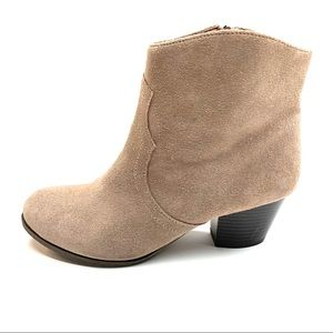 LUCKY BRAND Tablita Booties, 9.5